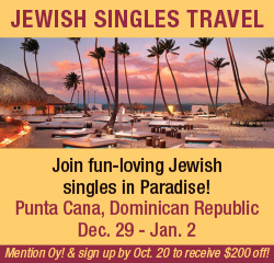Jewish Singles Travel box ad