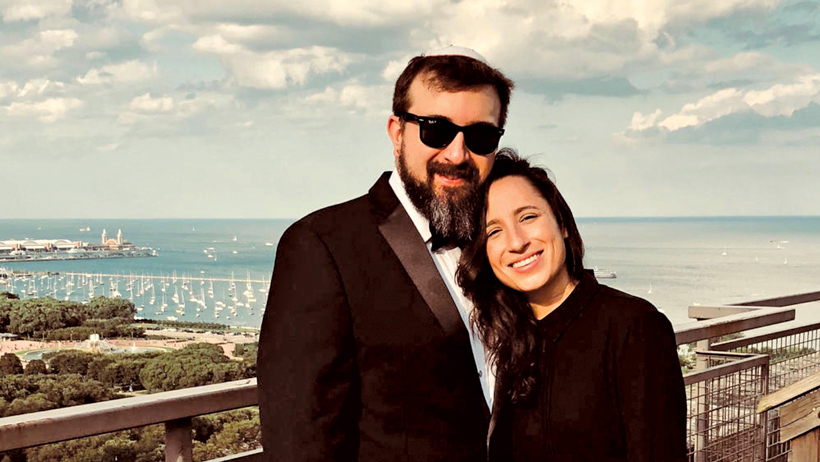 Meet Rav Ezra and Laura photo