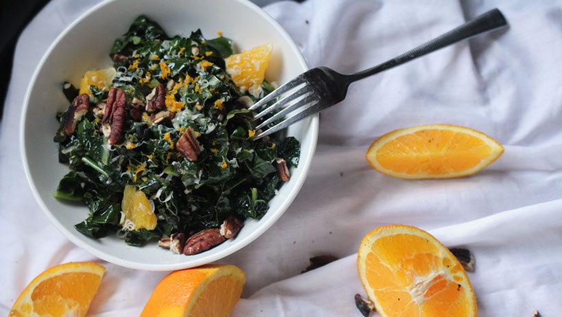 Warm Tuscan Kale Salad photo