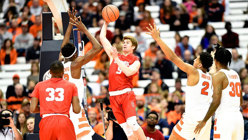 Interview with Cornell Basketball Freshman Bryan Knapp photo
