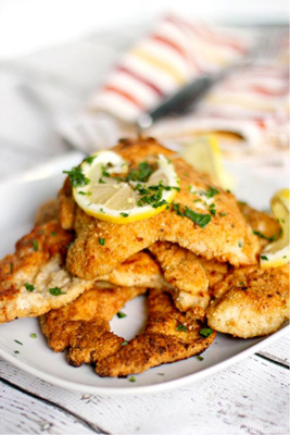 Crispy Matzo Lemon Chicken photo 4