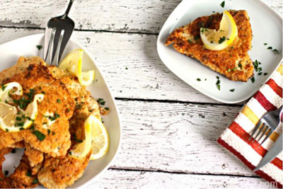 Crispy Matzo Lemon Chicken photo 1x