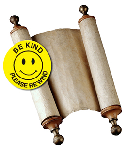 REWIND: A thought for Simchat Torah photo