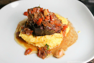 Parisienne Short Ribs with Creamy Polenta photo 1