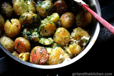 Garlic and Dill Pan-Roasted Taters photo 2