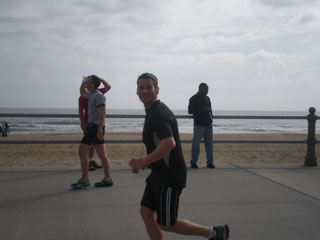 andy running