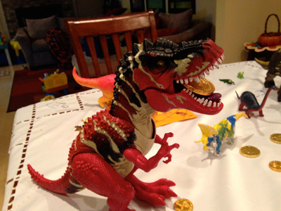 Dinosaur Chanukah photo 1