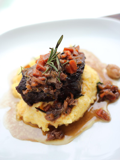 Parisienne Short Ribs with Creamy Polenta photo 5
