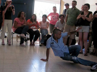 Breakdancing in Kiryat Gat photo 1