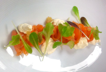Smoked Salmon Crudo photo