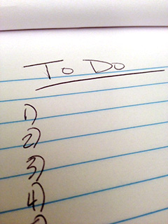 Turn Your To Do List into a Must Do List and Get #$%^ Done! photo