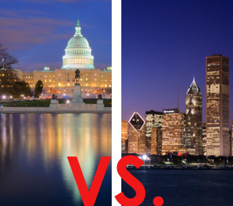DC vs. Chicago photo