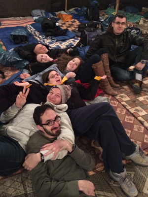 18 Things You Inevitably Do on Birthright Israel 14