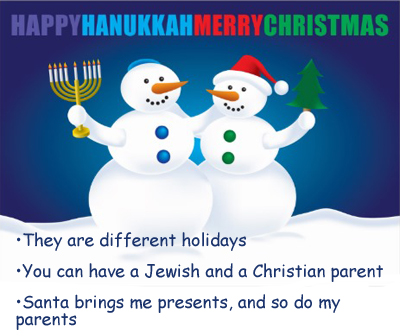 18 Signs You Grew Up Celebrating Chanukah and Christmas 112