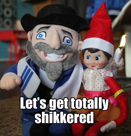 18 Signs You Grew Up Celebrating Chanukah and Christmas 16