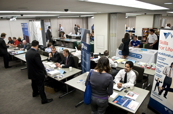Second JUF/JVS Job Fair photo