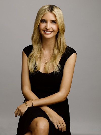 An interview with Ivanka Trump photo