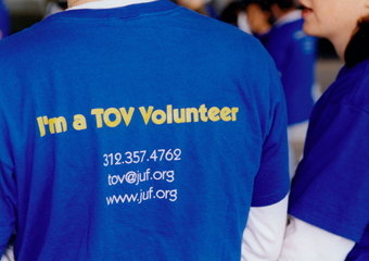Gelt without guilt TOV volunteer