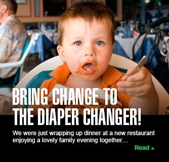 Bring Change to the Diaper Changer! slide
