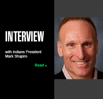 Interview with Indians President Mark Shapiro slide