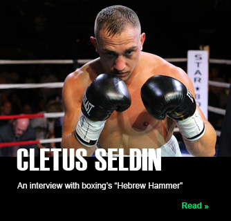 Interview with Jewish boxer Cletus Seldin slide