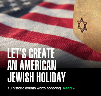 Let's create an American Jewish holiday slide