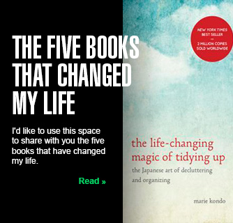 The Five Books that Changed My Life slide